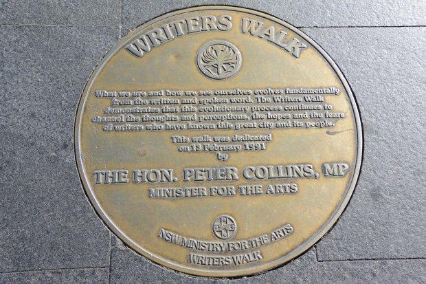 writer's walk sydney