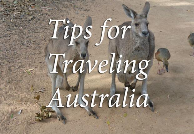 tips for traveling australia