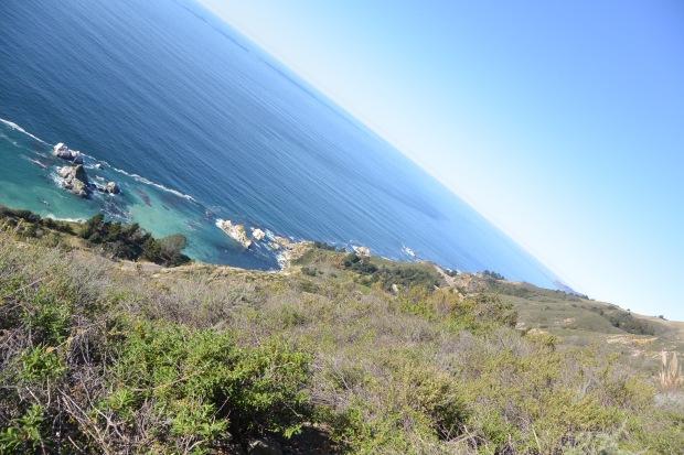 hiking big sur